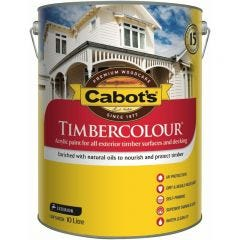 Cabot's Timbercolour 10L White