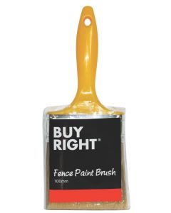 Buy Right® 100mm Fence Paint Brush