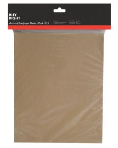 Buy Right® 15 Piece Sanding Sheets