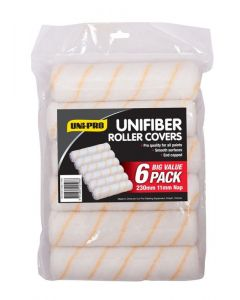 Uni-Pro Unifiber 230mm Roller Covers Pack of 6