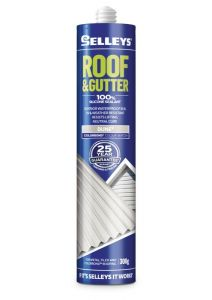 Selleys 300g Roof & Gutter Silicone Sealant Dune