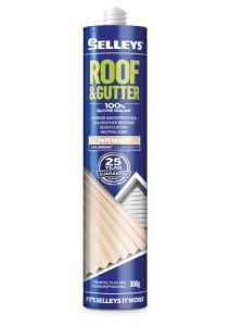 Selleys 300g Roof & Gutter Silicone Sealant Paperbark