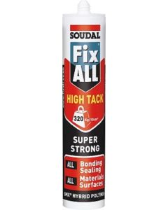 Soudal Fix ALL High Tack Sealant White 290ml