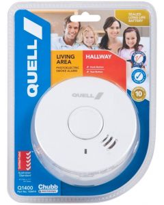 Quell 9V Photoelectric Smoke Alarm