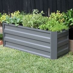 Raised Garden Bed 1200mm x 450mm x 450mm Slate