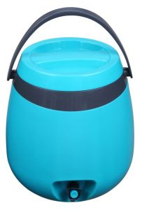 Retro Cooler Jug 10L Blue