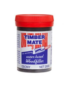 Timber Mate Woodfiller 250g Ebony