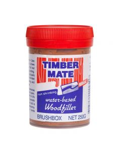 Timber Mate Woodfiller 250g Brushbox