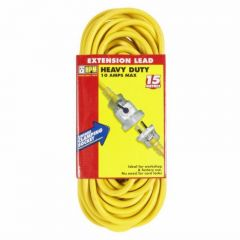HPM Heavy Duty Lead 15M W/Locking Socket