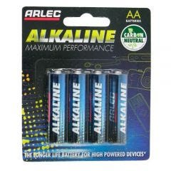Arlec Alkaline Battery - 4 X AA