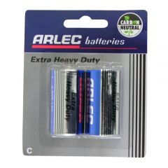 Arlec Extra Heavy Duty Battery - 2 X C