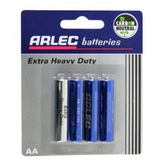 Arlec Extra Heavy Duty Battery - 4 X AA