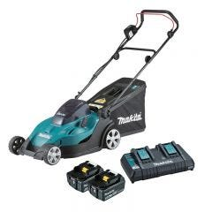 Makita 36V (18V x 2) 430mm Lawn Mower Kit