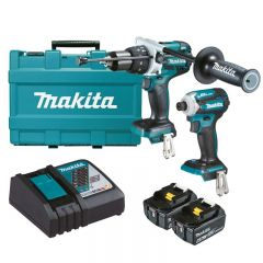 Makita 18V 6.0Ah 2 Piece Brushless Combo Kit DLX2308G