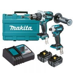 Makita 18V 5.0Ah 2 Piece Brushless Combo Kit DLX2308T