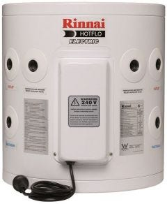 Rinnai Hotflo 25L 2.4kW Single Element with Plug Hot Water Tank EHF25S24P