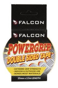 Falcon Powergrip Double Sided Tape 25mm