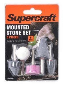 Supercraft Mounted Stone Set 5 Pieces 6mm