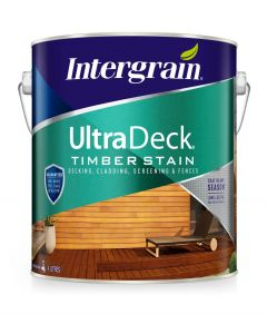 Intergrain UltraDeck Timber Stain Charcoal 4L