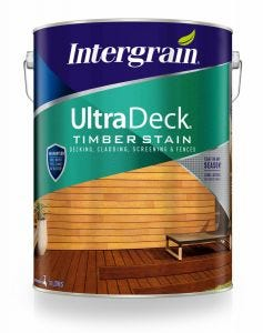 Intergrain UltraDeck Timber Stain Charcoal 10L