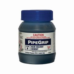 Pipegrip Type N Blue Solvent Cement 125ml