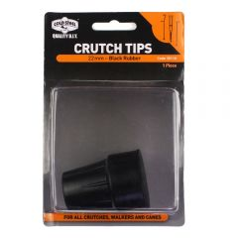 Cold Steel Rubber Crutch Tip Black 22mm