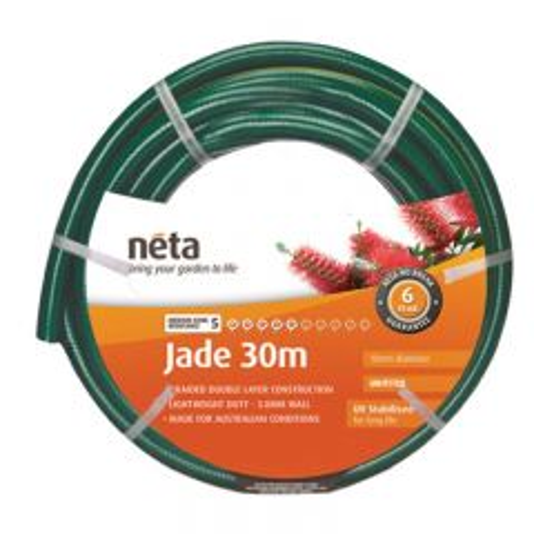 Neta Jade 30m Unfitted Hose (18mm)