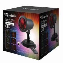 Mirabella Christmas Projector Moving Laser LED