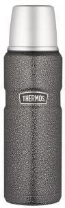 Thermos® 470ml Stainless King™ Stainless Steel Vacuum Insulated Flask - Hammertone