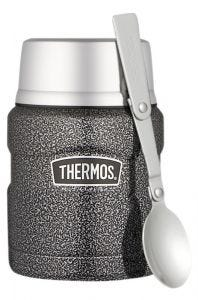 Thermos® 470ml Stainless King™ Stainless Steel Vacuum Insulated Food Jar - Hammertone