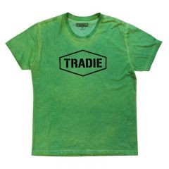 Tradie Hyper T-Shirt Green Medium