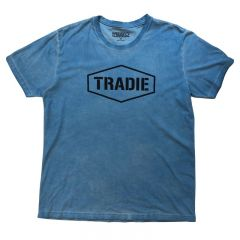 Tradie Hyper T-Shirt Blue Large