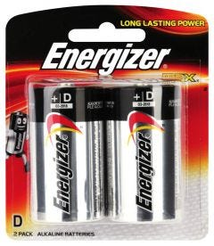 Energizer D Max  Battery