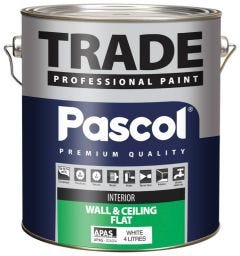 Pascol Trade Wall & Ceiling Paint 4L