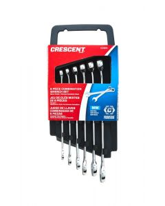 Crescent 6 Piece MET Combination Wrench Set