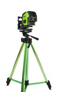 Imex Red Beam Crossliner Laser with tripod & staff LX22S