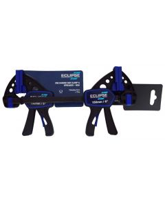 Eclipse 2 Pack Mini One Handed Clamp 150mm