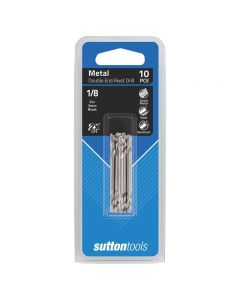 Sutton Tools Double End Rivet Drill Bit 1/8 10 Pack