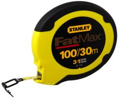 Stanley FatMax 30m/100' Steel Long Tape