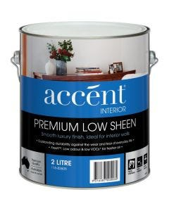 Accent® Interior Low Sheen White 2L