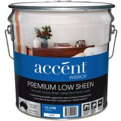 Accent® Interior Low Sheen White 15L