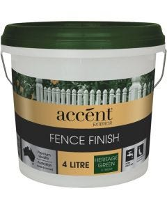accent® Fence Finish 4L Heritage Green
