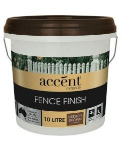 Accent® Fence Finish 10L Mission Brown