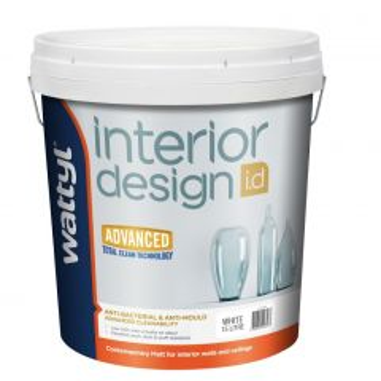 Wattyl Interior Design Advanced Matt White 15L