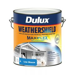 Dulux Weathershield Low Sheen Exterior 4 Litre