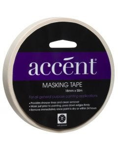 Accent® Masking Tape 18mm x 50m