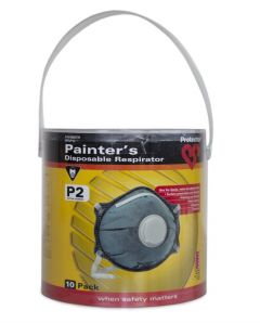 Protector Respirator Painters - 10 Pack