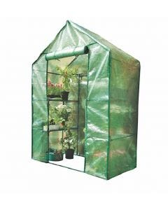 Economy Compact Walk In Greenhouse
