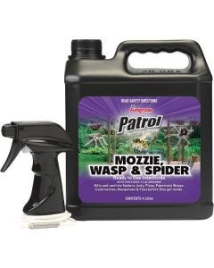 Patrol Mosquito Wasp & Spider Ready to Use 4 Litre