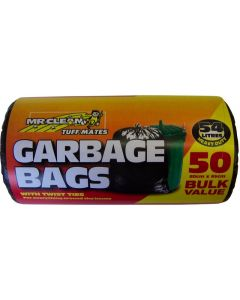 Bag Garbage 54l Pk50